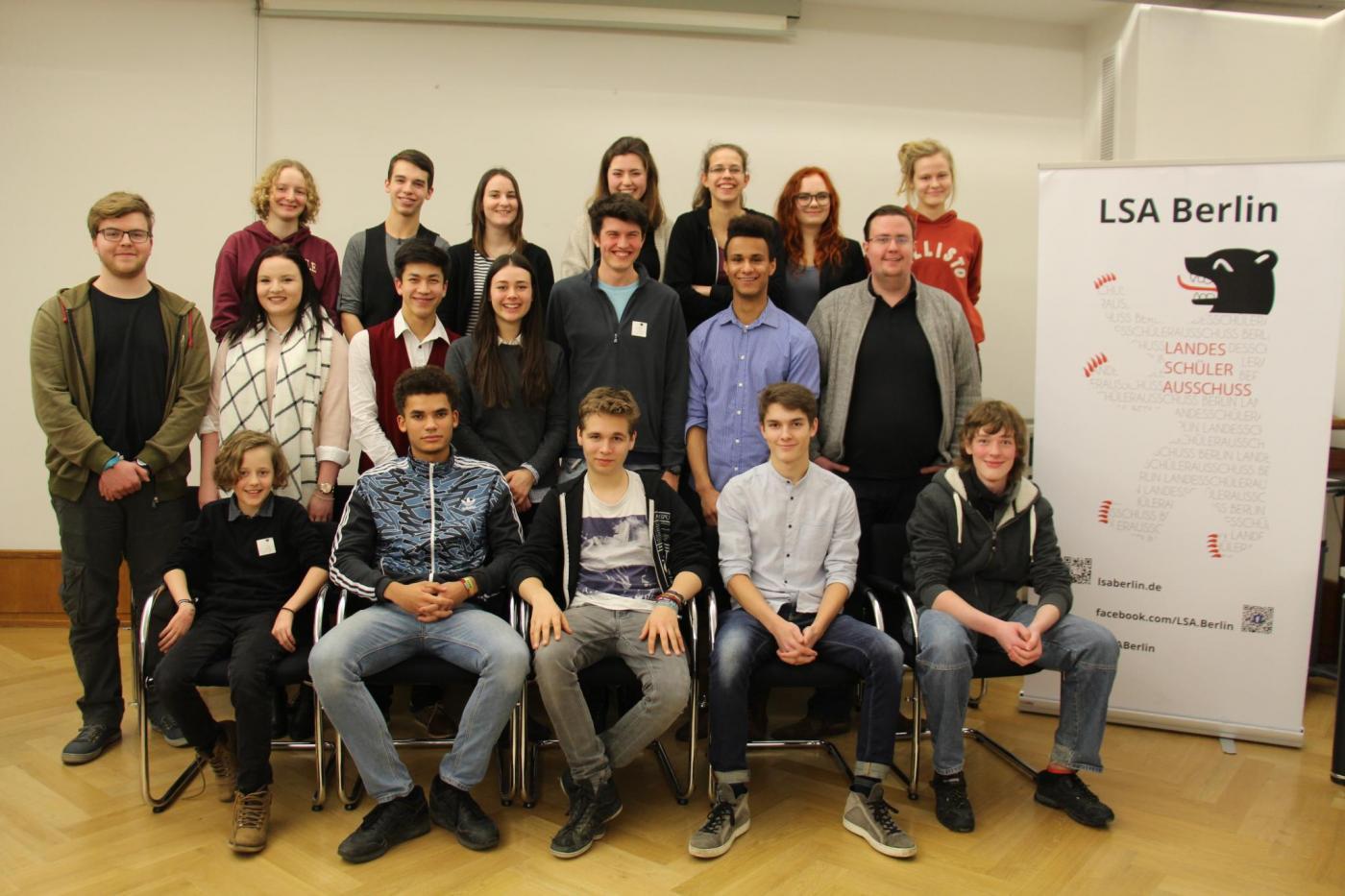 LSA Berlin auf der 1. Sitzung 2017 (Rotes Rathaus, 17.1.17)